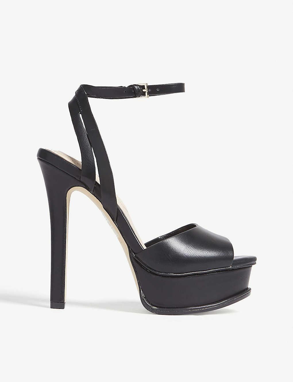 b8856229fa4 Eowelassa high ankle strap sandals - Black synthetic ...