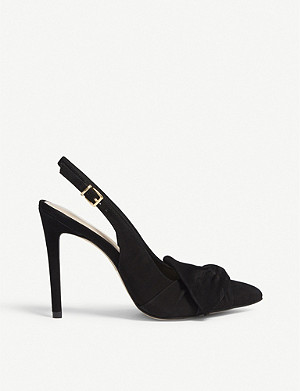 ALDO Separation bow detail leather courts