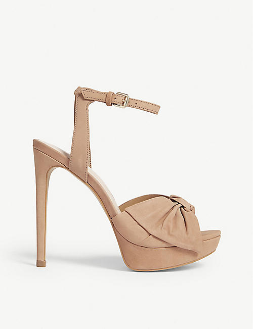 ALDO: Sublimity high wedge sandals