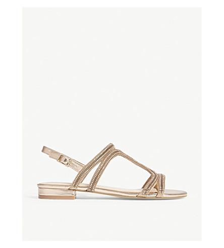 fdbae4199ab0fd ALDO Asiliria rhinestone slingback sandals (Metallic+miscellaneous