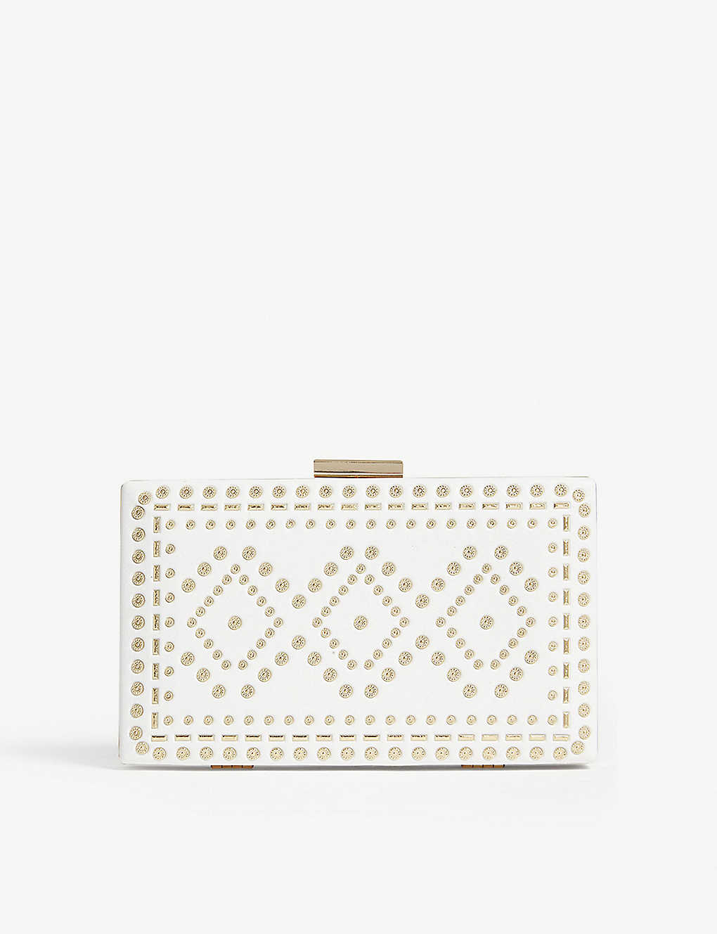 3cbda45c6a8 ALDO - Errotha embellished faux-leather clutch | Selfridges.com