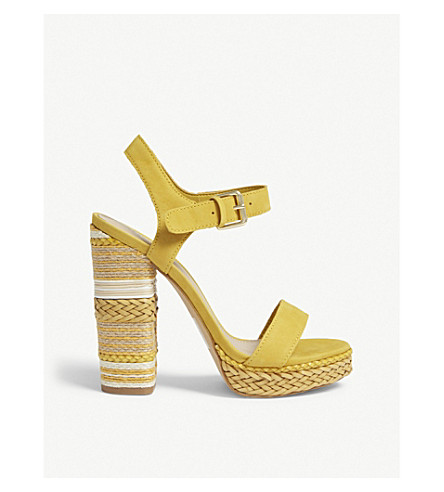 140fafd00a3 ALDO - Huglag leather platform sandals