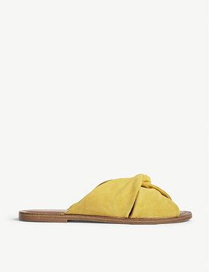 7d6534c9199152 ALDO - Yoana metallic flat sandals
