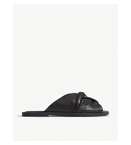 0bc52f5d7d0eed ALDO - Sessame suede flat sandals