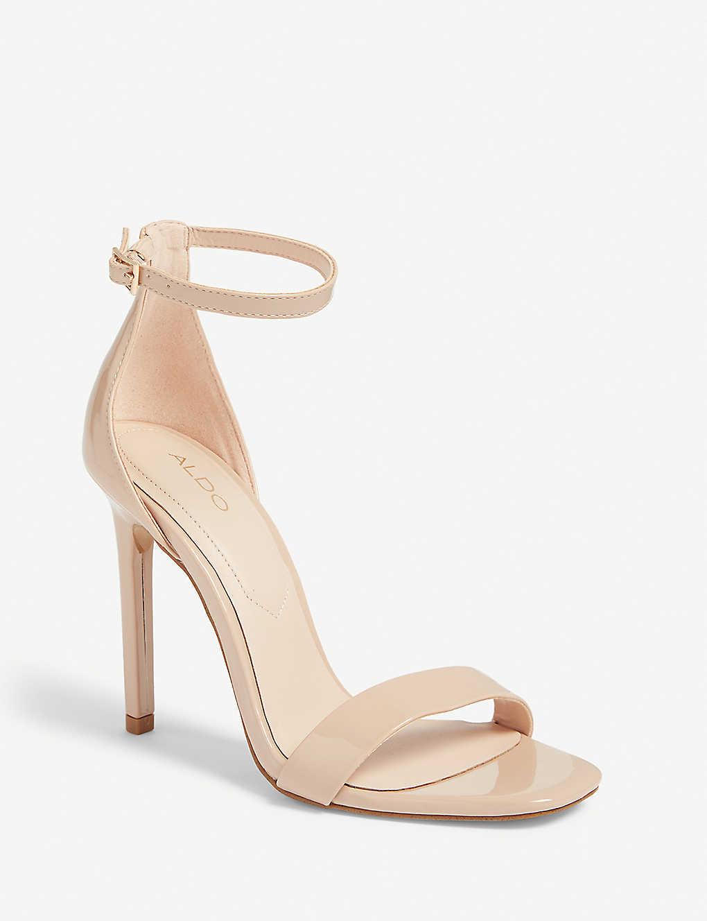 29c3d589b27a ... Derolila high ankle strap sandals - Bone ...