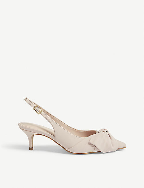 4d3c1c324cba ALDO Davangus bow detail slingback sandals