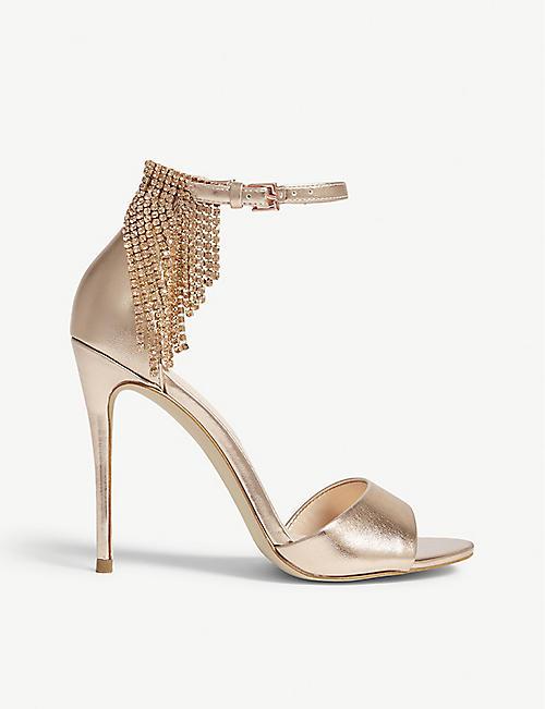 ALDO Batavia rhinestone ankle strap sandals