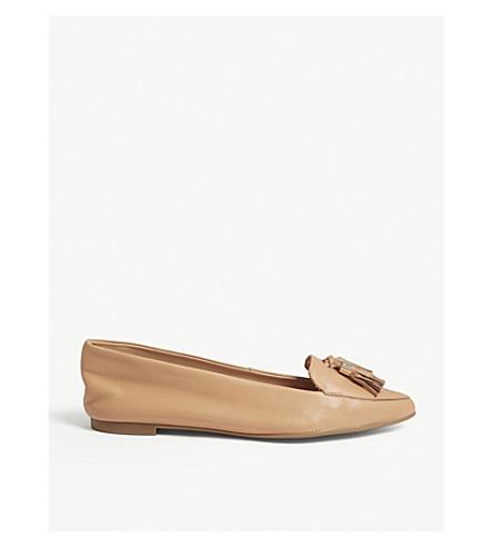 3f402365015 ALDO Magona leather loafers (Bone