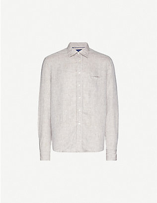 ETON: Relaxed-fit linen shirt