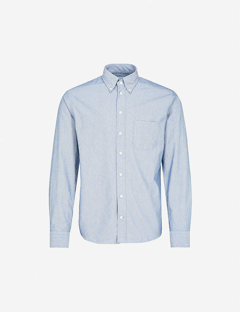 search for latest famous brand search for best Slim-fit cotton Oxford shirt