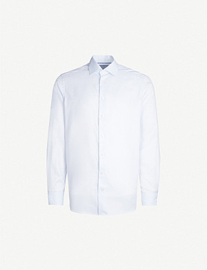 ETON Contemporary-fit cotton-blend shirt