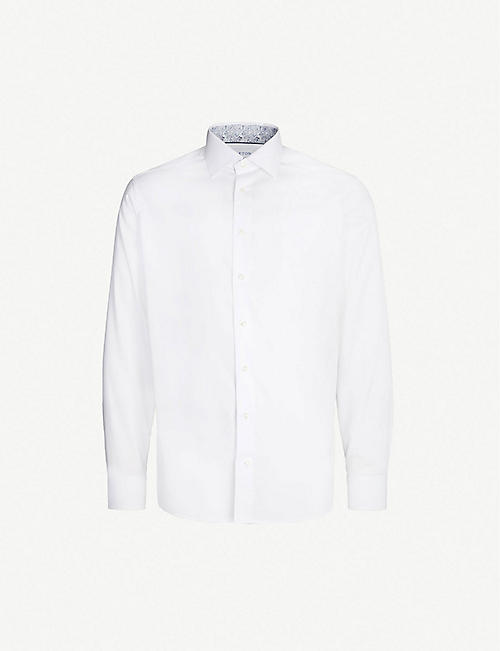 47ec8088def ETON - Shirts - Clothing - Mens - Selfridges