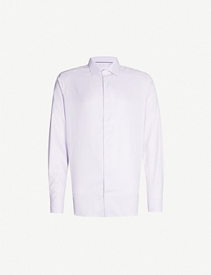 ETON Herringbone slim-fit cotton shirt
