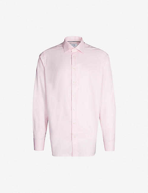 ETON: Contemporary-fit cotton shirt