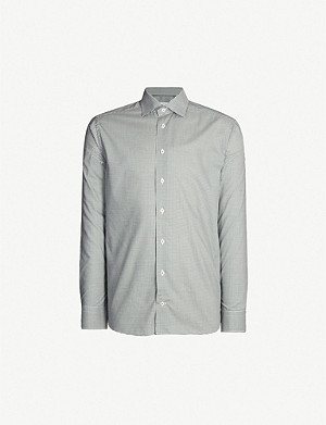 c95f34cee0 ETON · Checked slim-fit cotton shirt