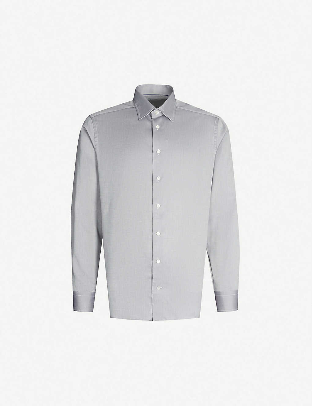 ETON: Slim-fit cotton shirt