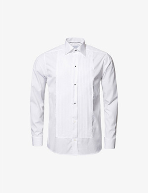 ETON Slim-fit double-cuff cotton shirt