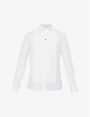 ETON: Super slim-fit cotton-poplin dress shirt