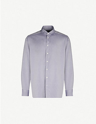 ETON: Contemporary-fit cotton Oxford shirt