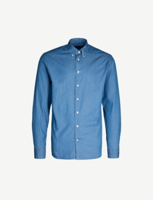 ETON Contemporary-fit cotton Oxford shirt