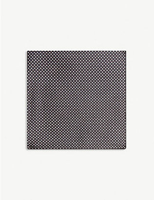 ETON: Polka-dot silk pocket square
