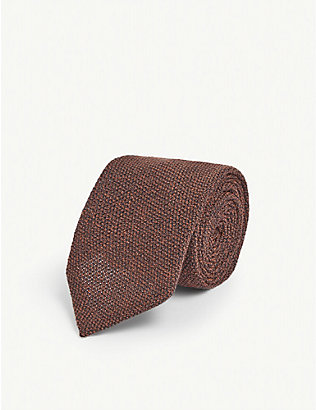 ETON: Wool and silk tie