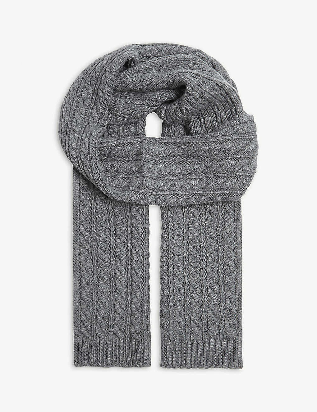ETON: Knitted wool scarf