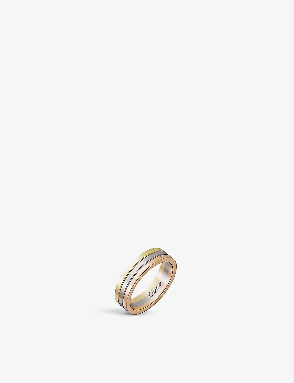 Cartier Trinity 18ct White Gold Yellow Gold And Rose Gold