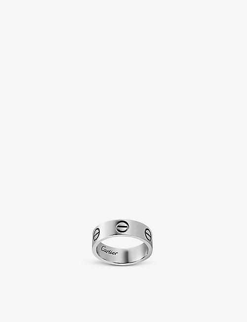 CARTIER LOVE 18ct white-gold ring