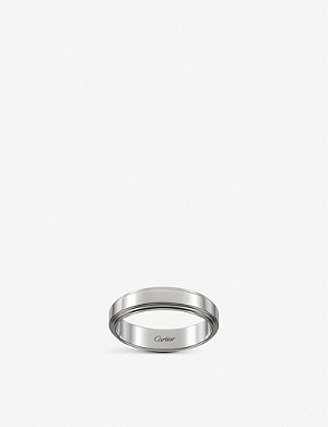 CARTIER Cartier d'Amour platinum wedding ring