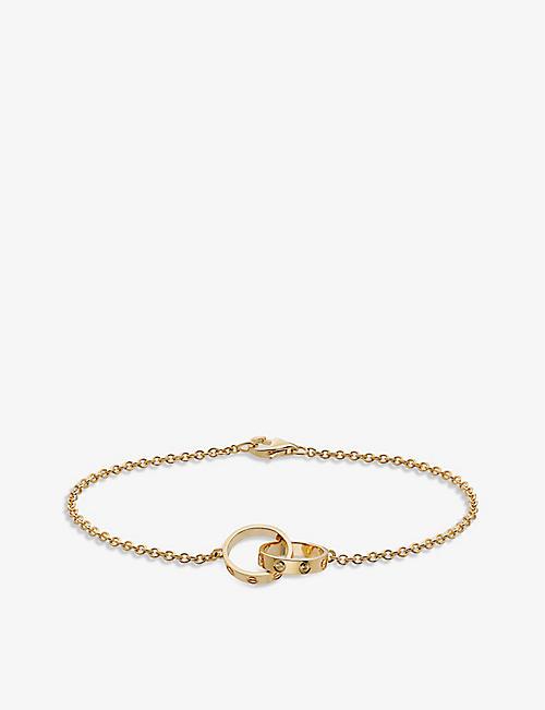 544b253e8a6 CARTIER Love 18ct yellow-gold bracelet