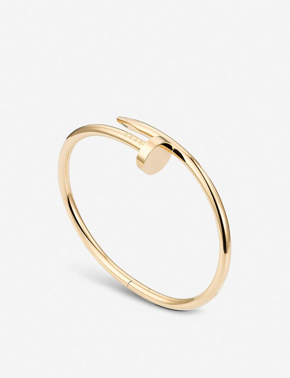 18f38b9d2a668 Juste un Clou 18ct yellow-gold bracelet