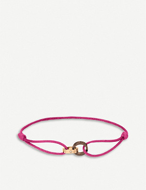 CARTIER Love 18ct pink-gold, diamond and ceramic bracelet
