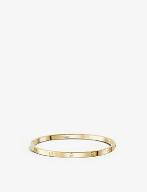 CARTIER LOVE 18ct yellow-gold bracelet small