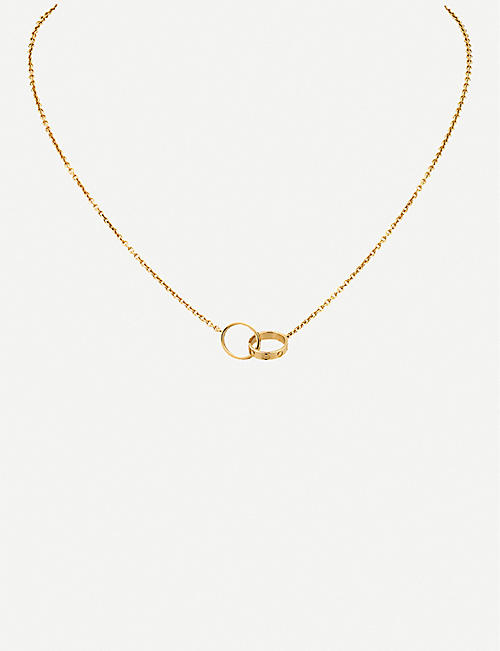 CARTIER Love 18ct yellow-gold necklace