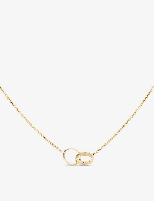 CARTIER: Love 18ct yellow-gold necklace