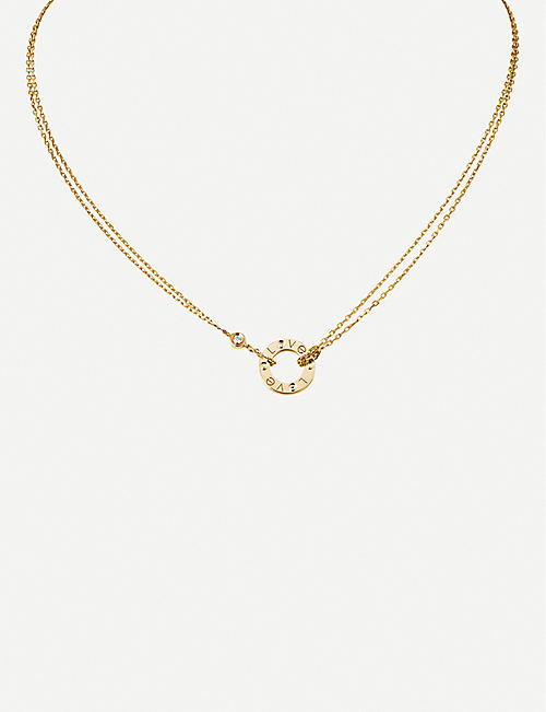 CARTIER Love 18ct yellow-gold and diamond necklace