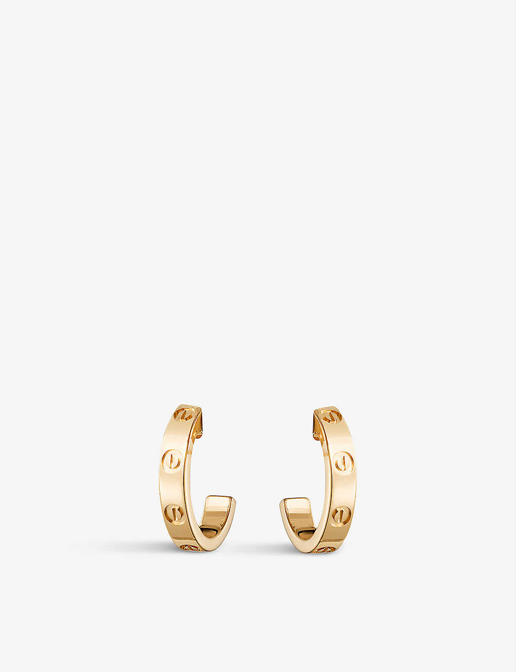 a731bc797a7e9 Love 18ct yellow-gold earrings