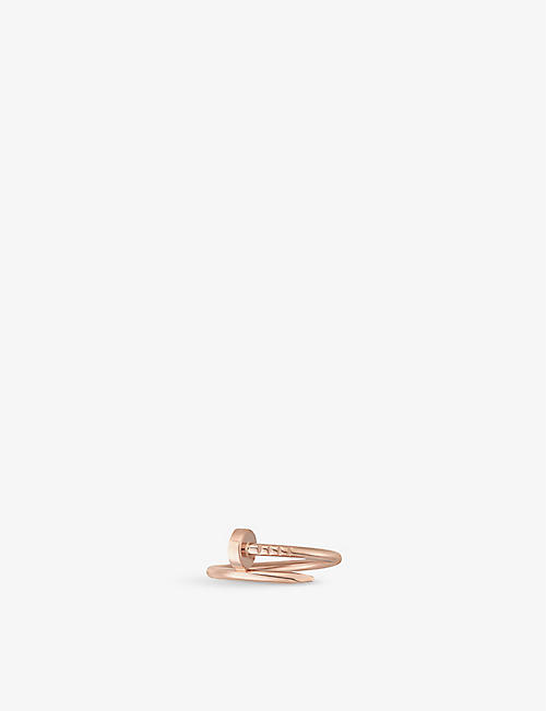 CARTIER Juste un Clou 18ct rose-gold ring
