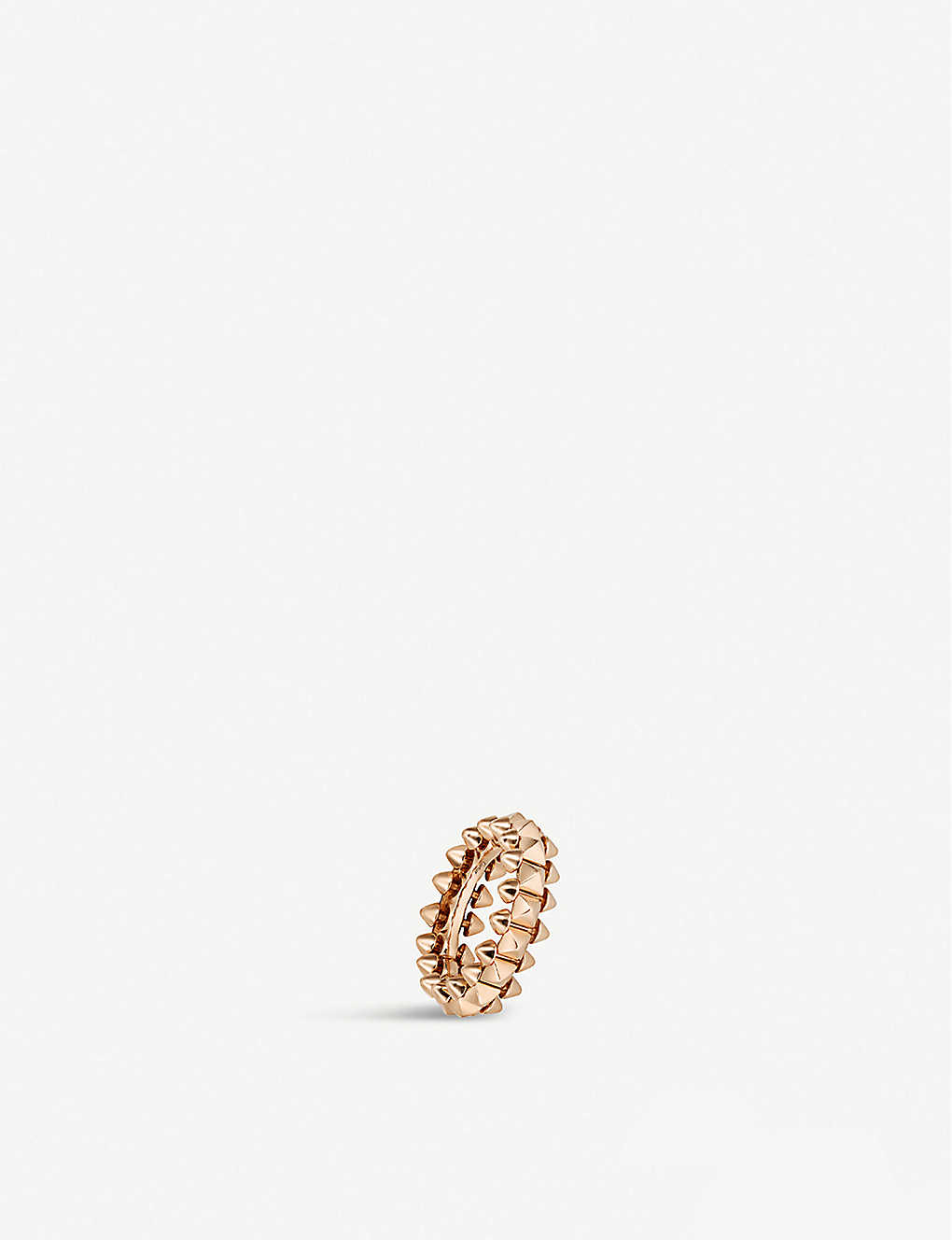 CARTIER: Clash de Cartier 18ct rose-gold small ring