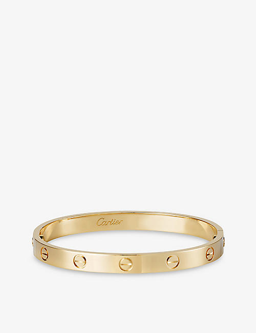 CARTIER: LOVE 18ct yellow-gold bracelet