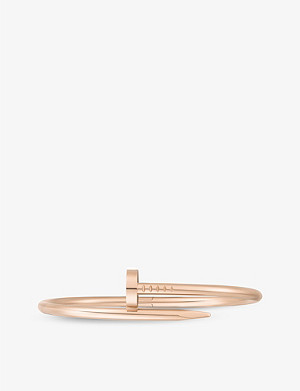 CARTIER Juste un Clou 18ct rose-gold bracelet