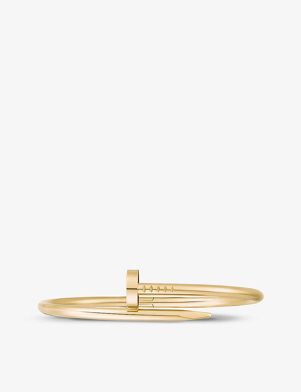 CARTIER: Juste un Clou 18ct yellow-gold bracelet