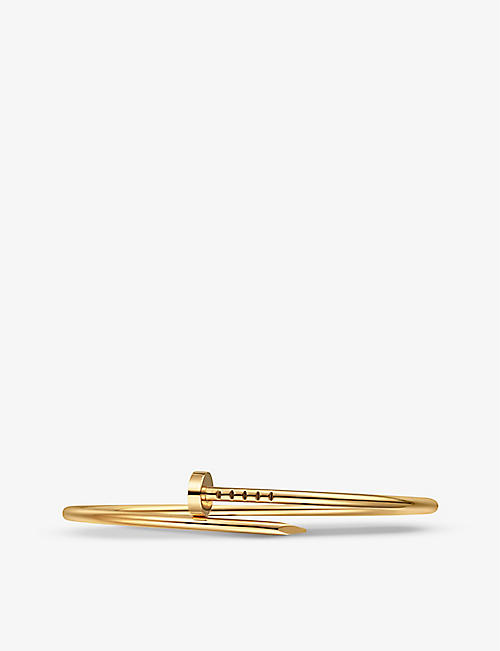 CARTIER Juste un Clou 18ct yellow-gold bracelet