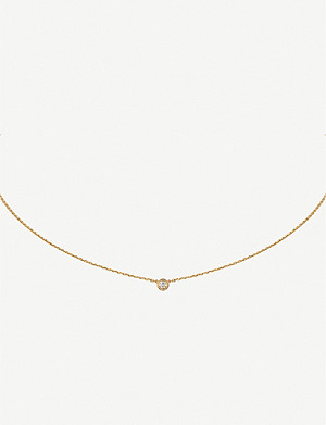 CARTIER Diamants Légers de Cartier 18ct yellow-gold and diamond necklace