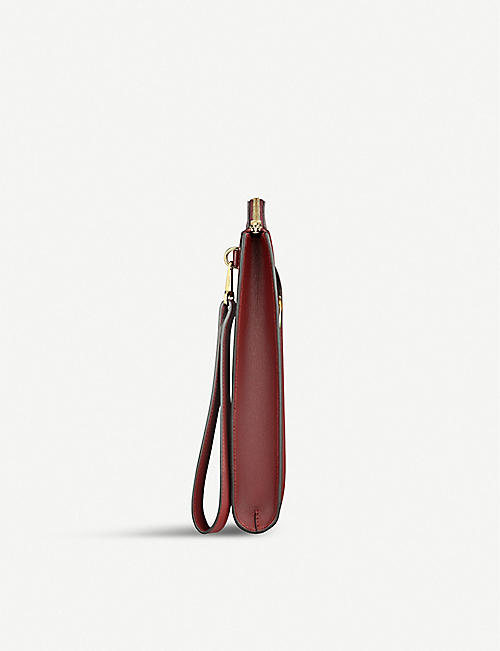 CARTIER Must de Cartier leather portfolio bag