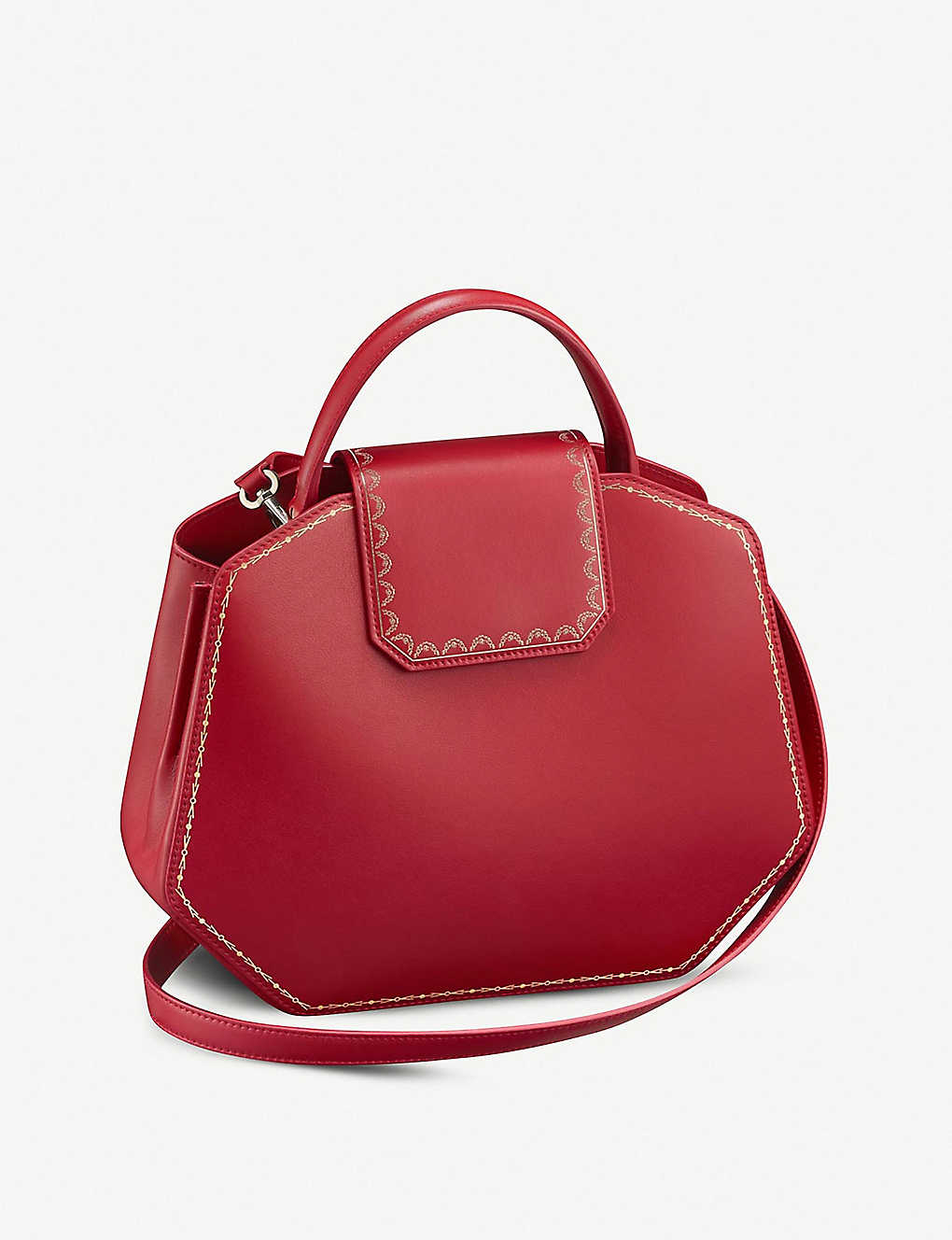 CARTIER: Guirlande de Cartier small leather handbag