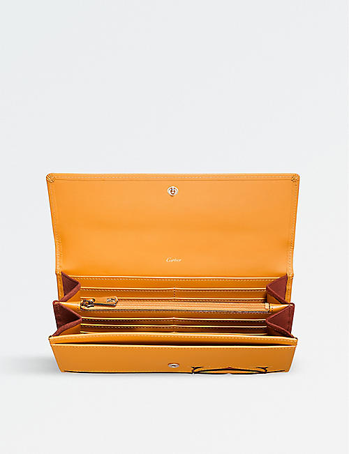 CARTIER Must-C International leather wallet
