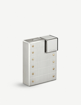 CARTIER Santos Decor palladium lighter