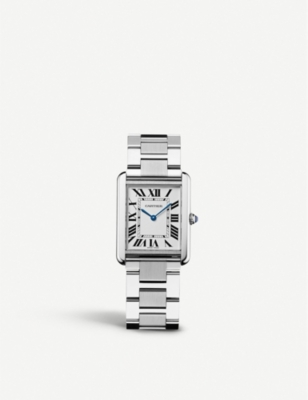 CARTIER Tank Solo stainless steel watch
